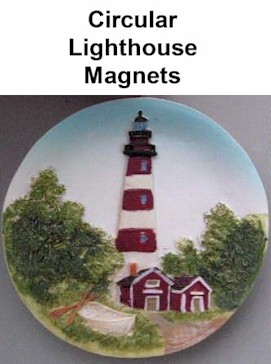 Circular Lighthouse Magnets