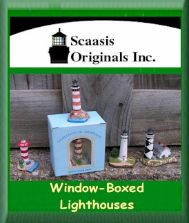 Scaasis Window-Boxed Lighthouses