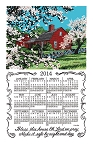 F3205 Calendar Towel, Bless This House, 17