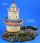 HL295 Harbour Lights Ltd. Ed. Lighthouse, Brandywine Shoal, New Jersey