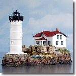 Harbour Lights Ltd. Ed. Portsmouth Harbour NH