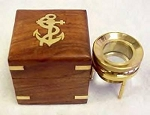 Brass Map & Chart Magnifier in Box