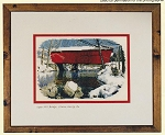 Cross Stitch Chart Logan Mill Covered Bridge