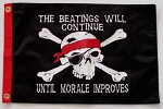 Pirate Flag The Beatings Will Continue 12