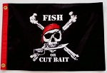 Pirate Flag Fish Or Cut Bait 12