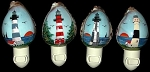 Assorted Lighthouse Seashell Nightlights