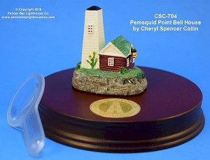 CSC-704 Cheryl Spencer Collin Pemaquid Bell House, Pemaquid, Maine