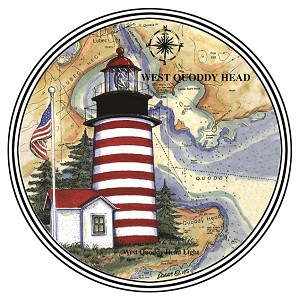 HL101 Coasterstone Coasters West Quoddy ME Set of 4