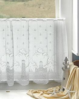 "Lighthouse 60""x24"" Tier White""By Heritage Lace"